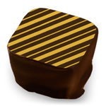 Diagonal Stripes - Gold
