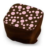 Small Polka Dots - Rose
