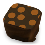 Large Polka Dots - Copper