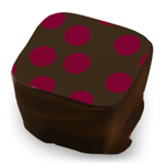 Large Polka Dots - Wine