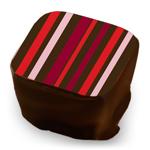 Stripes - Red, Wine & Rose