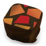 Graphic Mosaic - Red, Papaya & Orange