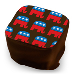 Republican Elephant - Red, White & Blue
