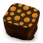 Basketballs - Black & Orange