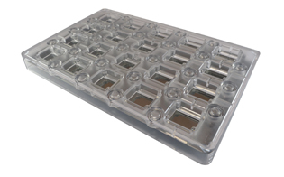 Deco Rectangle - Magnetic Mold