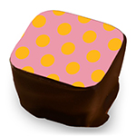 Retro Polka Dots - Rose & Mango