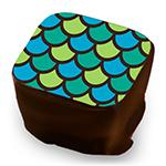 Scales - Aqua, Lime & Teal