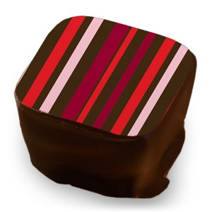 Stripes - Red, Wine & Rose